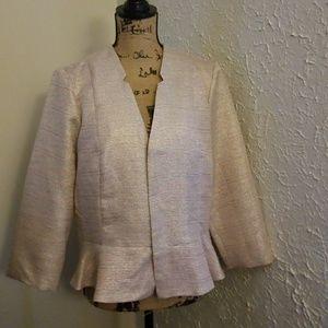 Pink suit blazer